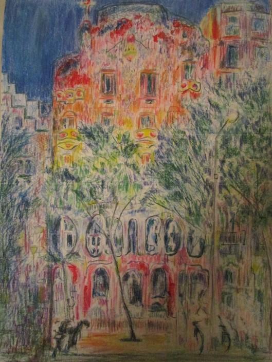 Gaudi house 2