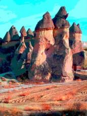 cappadoccia columns 5
