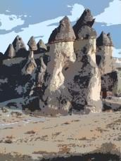 cappadoccia columns 6