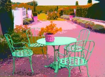charentaise garden
