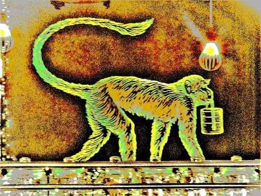verdigris monkey